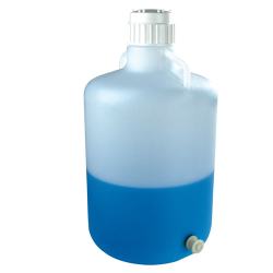5 Gallon Tamco ® Modified Nalgene™ LDPE Carboy with Push Button Spigot
