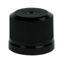28mm Black KERR Tamper Evident Cap