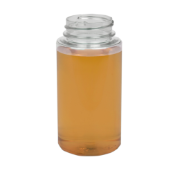 8 oz. PET Cylinder Round with 38/400 Neck (Caps sold separately)