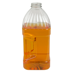 5 lbs. PET Square Grip Bottles with 38/400 Neck (Caps sold separately)