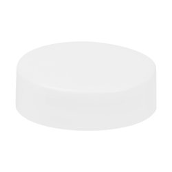 89/400 White Polypropylene Extra Tall Unlined Cap