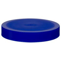 89/400 Blue Polypropylene Unlined Ribbed Cap