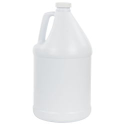 1 Gallon Round White Jug with 38/400 Cap