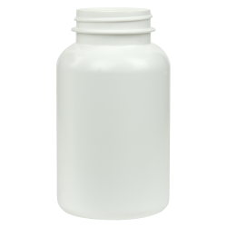 275cc/9.3 oz. HDPE Pharma Packer with 45/400 Neck (Cap Sold Separately)