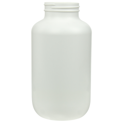 750cc/25.4 oz. HDPE Pharma Packer with 53/400 Neck (Cap Sold Separately)