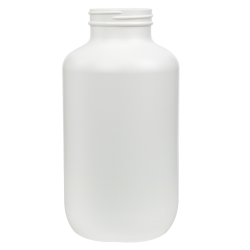 950cc/37.4 oz. HDPE Pharma Packer with 53/400 Neck (Cap Sold Separately)