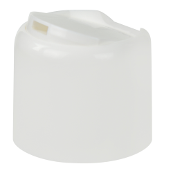 20/410 White Disc-Top Dome Cap