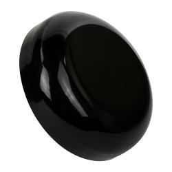 53/400 Black Polypropylene Dome Cap