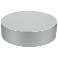 89/400 Brushed Silver Tall Cap with Foam Liner