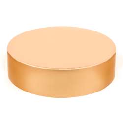 89/400 Brushed Gold Tall Cap with Foam Liner