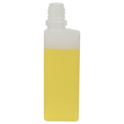 30mL Natural LDPE Rectangular CRC E-Liquid Bottle (Cap Sold Separately)