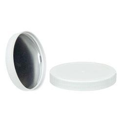 89/400 White Cap with Foil Induction Seal