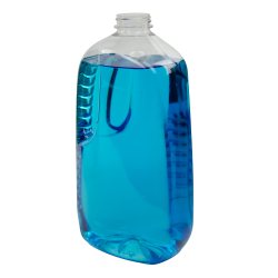 64 oz. PET Jupiter Oblong Jug with 38/400 Neck (Cap Sold Separately)
