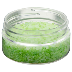 2 oz. Clear PET Straight Sided Jar with 58/400 Neck (Cap Sold Separately)