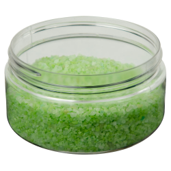 8 oz. Clear PET Straight Sided Jar with 89/400 Neck (Cap Sold Separately)