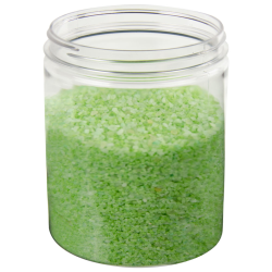 32 oz. Clear PET Straight Sided Jar with 89/400 Neck (Cap Sold Separately)