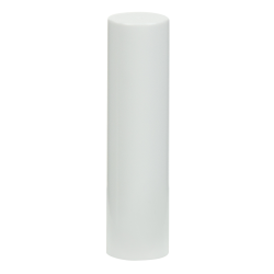 White Cap for .07 oz. White Lip Stick Tube