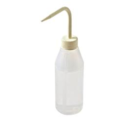 250mL Azlon ® Sloping Shoulder Wash Bottle with White Cap & Spout