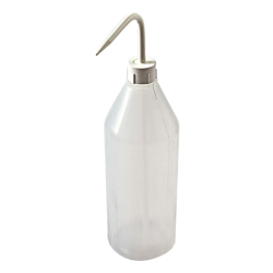 1000mL Azlon ® Sloping Shoulder Wash Bottle with White Cap & Spout