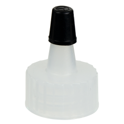 18/400 Natural Yorker Spout Cap with Regular Black Tip
