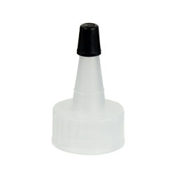 22/400 Natural Yorker Spout Cap with Regular Black Tip