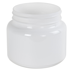 22 oz. White PET Jar with 89mm Neck (Cap Sold Separately)