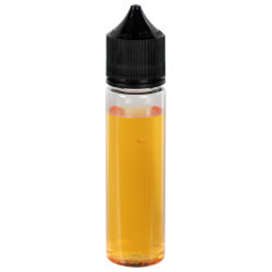 60mL Clear PET Unicorn Bottle with Black CRC/TE Cap