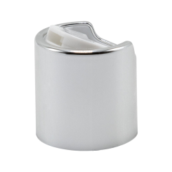 20/410 Silver & White Disc Dispensing Cap