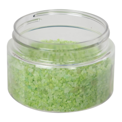 6 oz. Clear PET Low Profile Jar with 70/400 Neck (Caps sold separately)