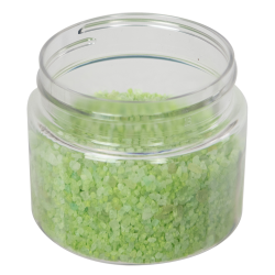 8 oz. Clear PET Low Profile Jar with 70/400 Neck (Caps sold separately)