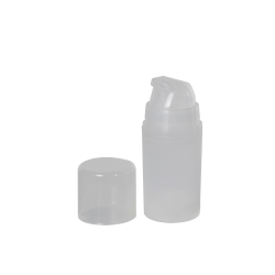15mL Natural Mini Airless Dispensers with Cap
