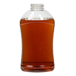 32 oz. (Honey Weight) PET Hourglass Grip Bottle with 38/400 Neck (Cap Sold Separately)