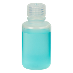 2 oz./60mL Nalgene™ Narrow Mouth Economy Polypropylene Bottle with 20mm Cap