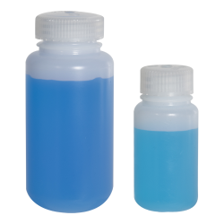 1 oz./30mL Nalgene™ Lab Quality Wide Mouth HDPE Bottle with 28mm Cap