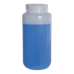 32 oz./1000mL Nalgene™ Lab Quality Wide Mouth HDPE Bottle with 63mm Cap
