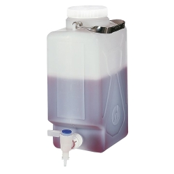 Thermo Scientific™ Nalgene™ Level 5 Fluorinated Leakproof Rectangular Carboys
