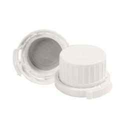 Tamper Evident Cap with Foam/Aluminum Liner