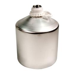 4000mL Industrial Aluminum Bottle Plus 45 Bottle (Cap Sold Separately)