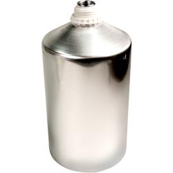 6250mL Industrial Aluminum Bottle Plus 45 Bottle (Cap Sold Separately)