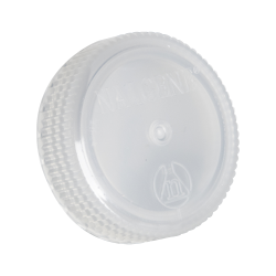 53mm Nalgene™ White Polypropylene Closures - Package of 12