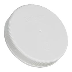 100mm Nalgene™ White Polypropylene Closures - Package of 12