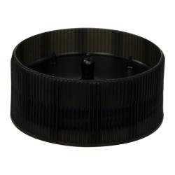 38/400 Black Revo-Cap with Foil Seal