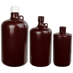 Thermo Scientific™ Nalgene™ Large Amber Narrow Mouth Bottles