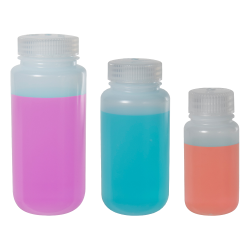 Thermo Scientific™ Nalgene™ Wide Mouth LDPE Bottles with Caps