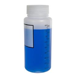 1000mL Azlon ® Polypropylene Graduated Label Bottles with 65mm Caps - Case of 6