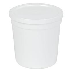 16 oz. White Specimen Containers