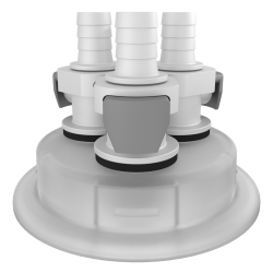 VersaCap ® 83mm Adapter with 3 - 3/8
