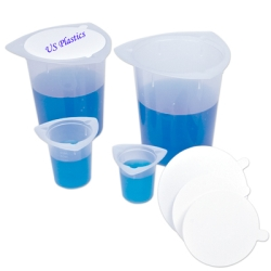 100mL Tri-Pour® Graduated Disposable Beakers