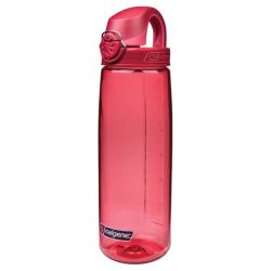 24 oz. Red Nalgene ® On The Fly Tritan Water Bottle with Beet Red Cap