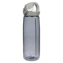 24 oz. Gray Nalgene ® On The Fly Tritan Water Bottle with Gray Cap